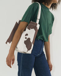Horizontal Duck Bag – Brown Cow