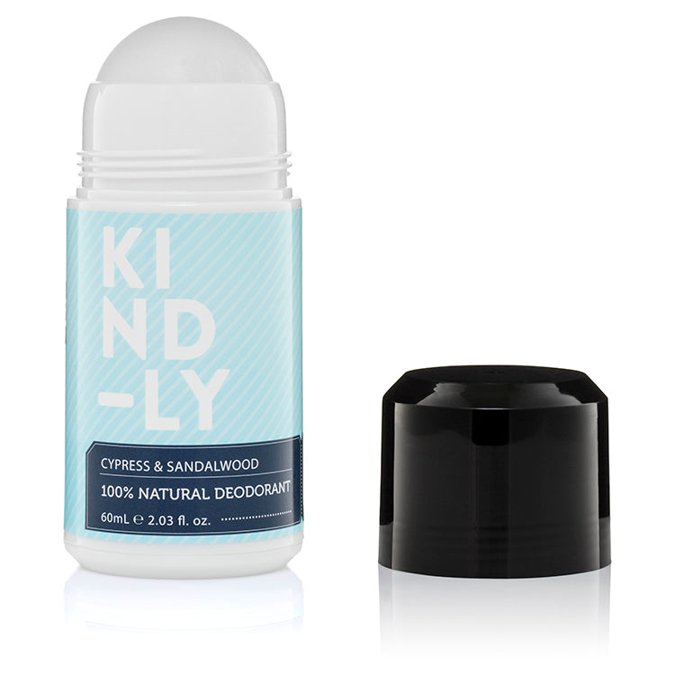 Cypress & Sandalwood - 100% Natural Deodorant