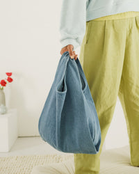 Medium Baggu - Light Denim