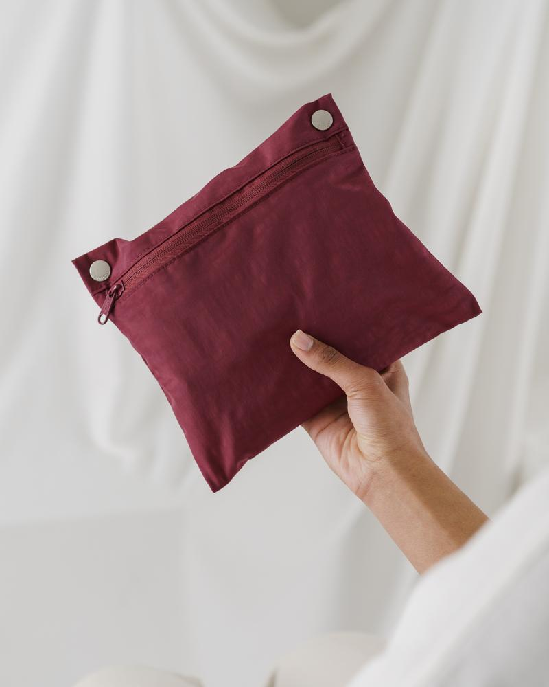 Mini Cloud Bag - Cranberry