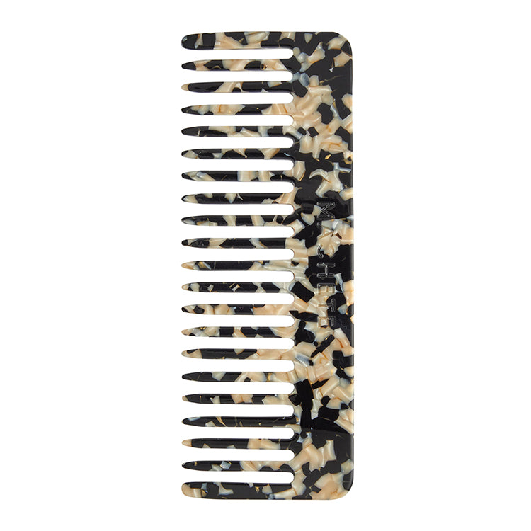 No. 2 Comb in Black & Gold