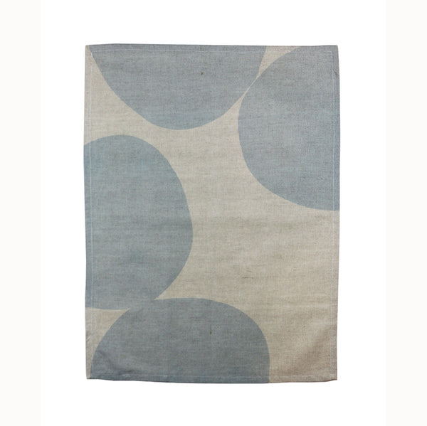 Pebble Tea Towel – Blue