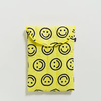 "Puffy Laptop Sleeve 13"" – Yellow Happy"