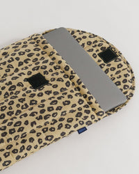 "Puffy Laptop Sleeve 16"" – Honey Leopard"