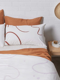 Salento Duvet Set – Wine and Orchid