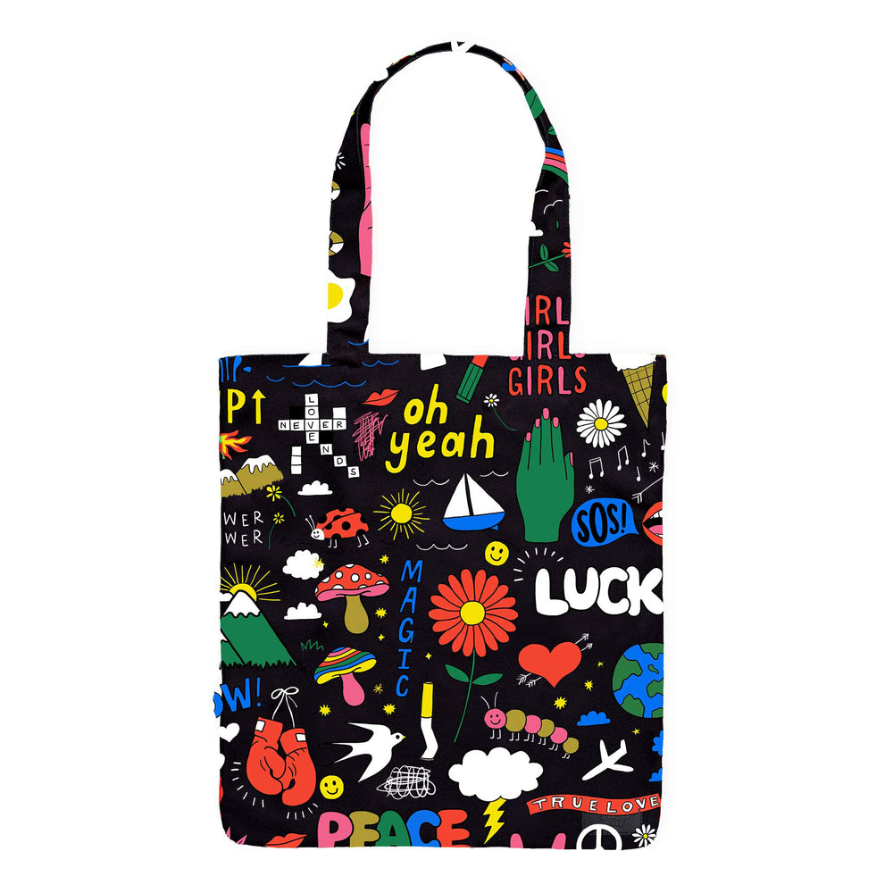 Sketch Book Tote Bag