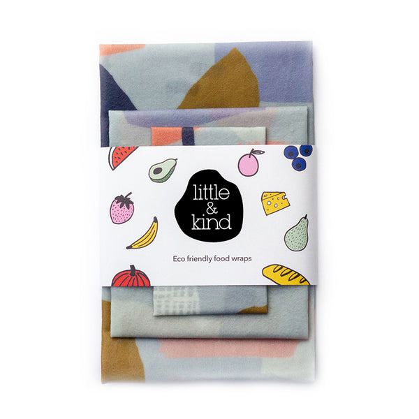 Food wraps – Abstract 3 pack
