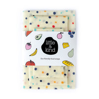Food wraps – Rainbow Spots 3 pack