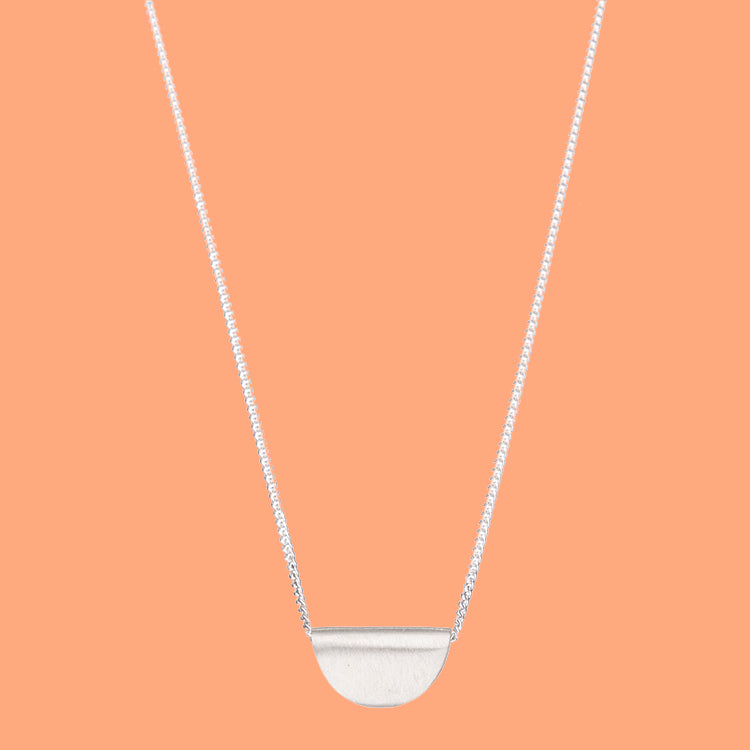 Taco Necklace - sterling silver