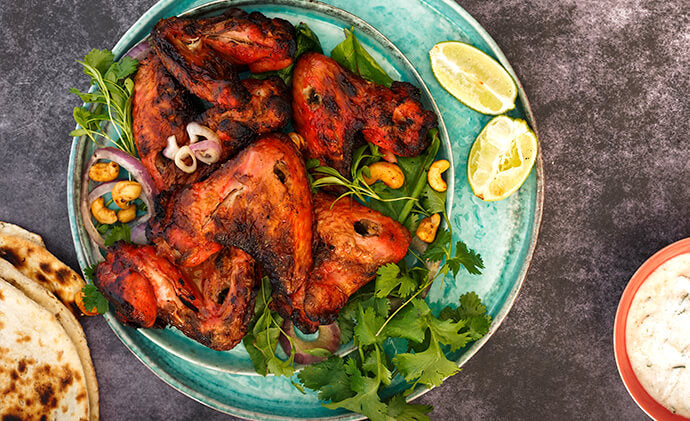 Easy Chicken Wings Recipe Baked Chicken Wings Tandoori Chicken In Oven Sanjeev Kapoor Tata Nutrikorner