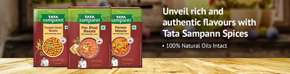 Unveil rich and authentic flavours with Tata Sampann Spices
