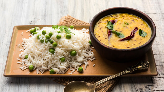 Dig into a bowl of dal chawal more often