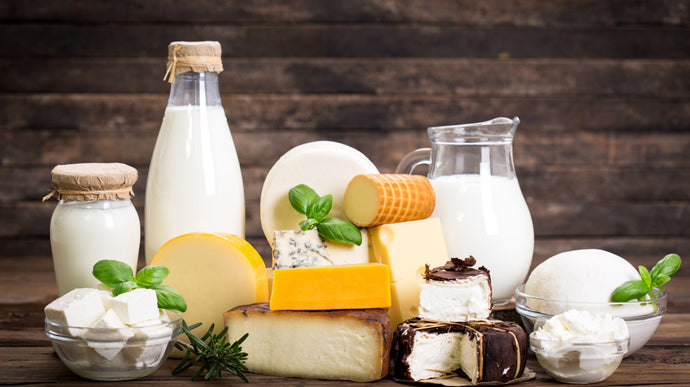 how long has dairy been in our diet