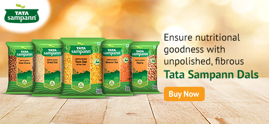 Experience the wholesome goodness of Tata Sampann Dals