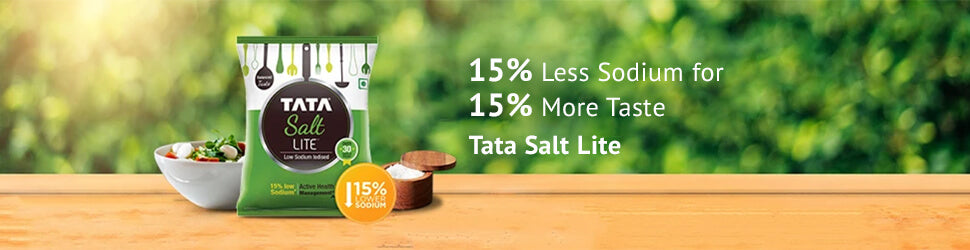 Tata Salt Lite - Low Sodium, Great Taste