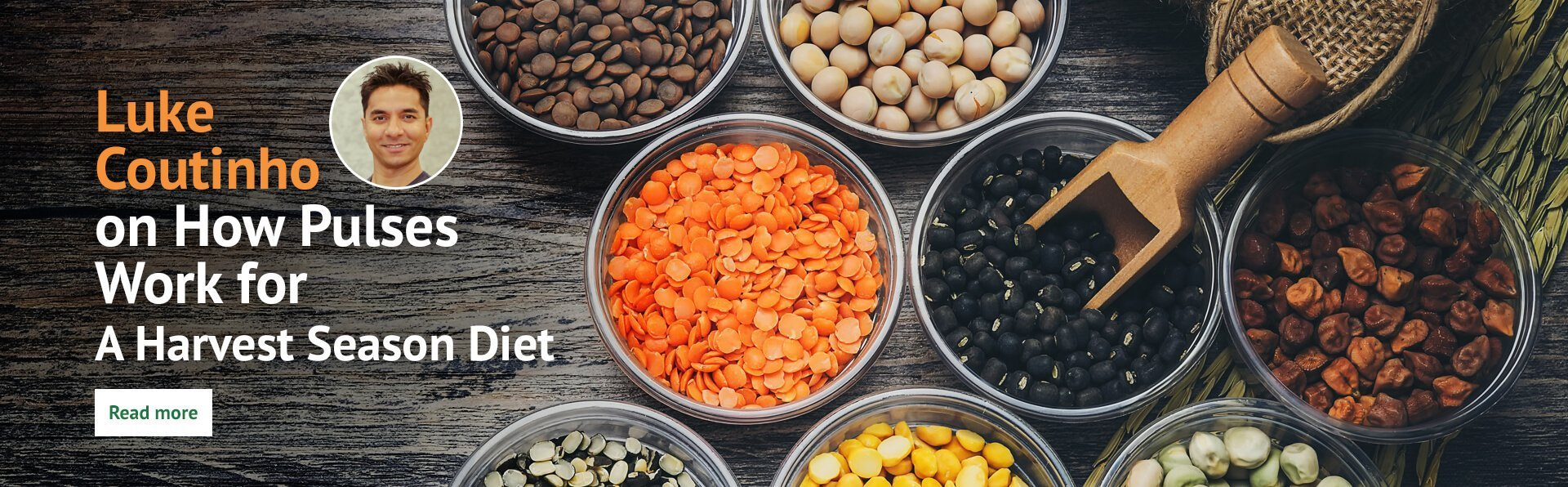 How Pulses work for a harvest season diet