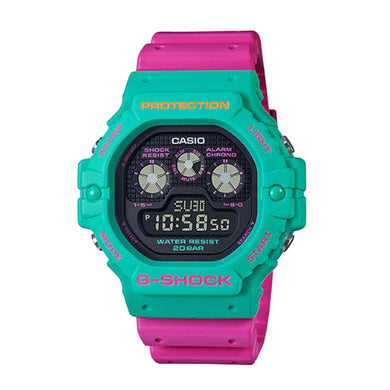 Casio G-Shock DW-5900 Lineup Special Color Models Pink Resin Band Watch DW5900DN-3D DW-5900DN-3