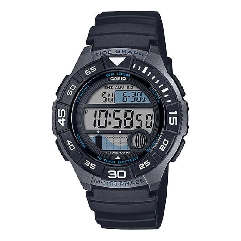 Casio Men's Sports Black Resin Band Watch WS1100H-1A WS-1100H-1A | Watchspree