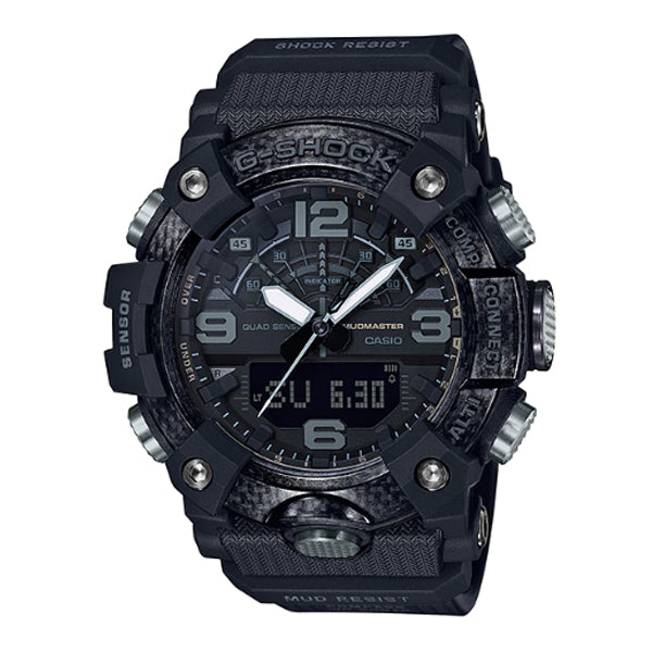 Casio G-Shock Master of G Carbon Core Guard Structure Black Resin Band Watch GGB100-1B GG-B100-1B