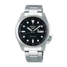 Load image into Gallery viewer, Seiko 5 Sports Automatic Silver Stainless Steel Band Watch SRPE55K1