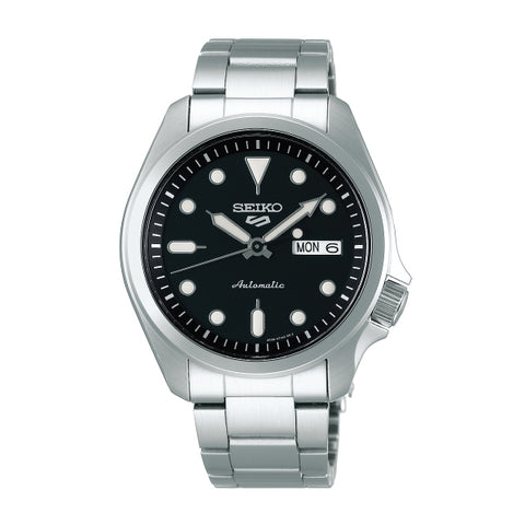 Seiko 5 Sports Automatic Silver Stainless Steel Band Watch SRPE55K1