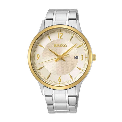 Seiko Quartz 50th Anniversary Special Edition Silver Stainless Steel Band Watch SGEH92P1 | Watchspree