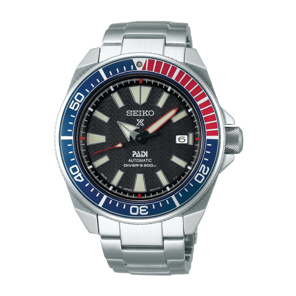 [JDM] Seiko Prospex and PADI (Japan Made) Air Diver's Automatic Special Edition Silver Stainless Steel Band Watch SBDY011 SBDY011J