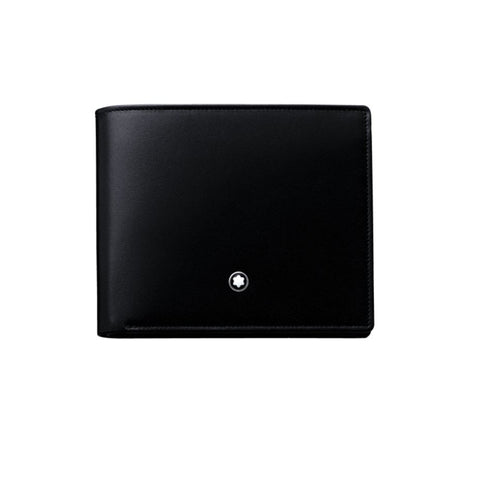 Montblanc Meisterstuck Horizontal Black Leather 12CC Wallet 103384