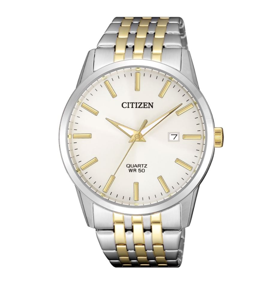 Citizen Men's Quartz Two Tone Stainless Steel Watch BI5006-81P