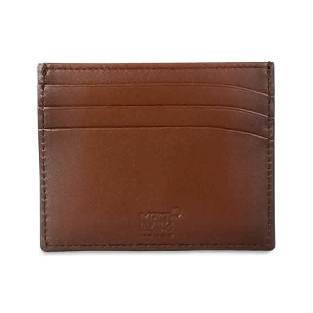 MontBlanc Meisterstuck Sfumato Brown Leather Credit Card Holder 113173