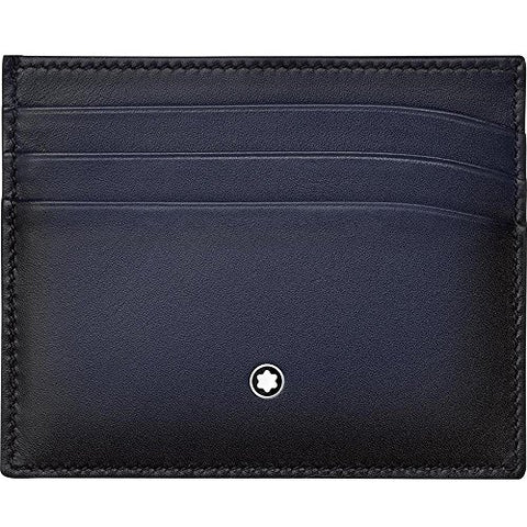 Montblanc Navy Blue Pocket Holder 113174