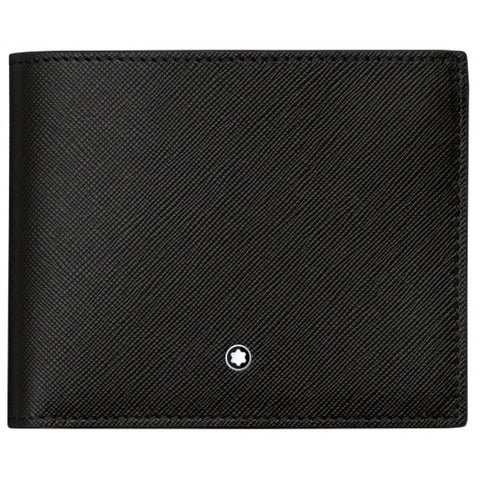 Montblanc Sartorial Bi-fold View 9CC Leather Wallet 113210