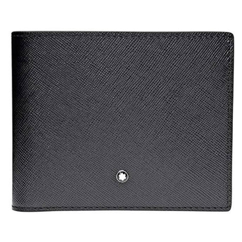 Montblanc Sartorial Black Leather 6CC Wallet 113215