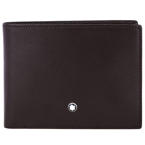 Montblanc Meisterstuck Full Grain Leather 6cc Wallet - Brown 114541