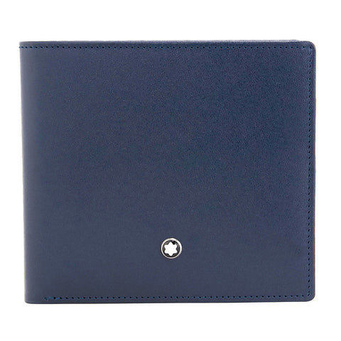 Montblanc Meisterstuck 8 CC Leather Wallet - Navy 114545