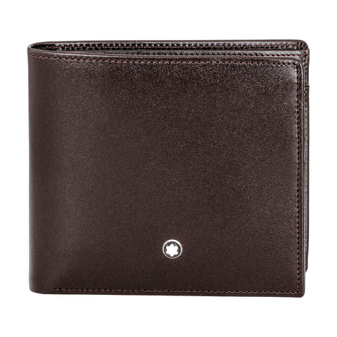 Montblanc Meisterstuck4 CC Leather Wallet - Brown 114546