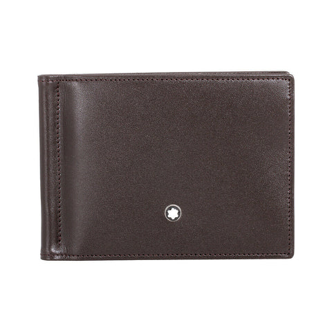 Montblanc Meisterstuck 6 CC Leather Wallet - Brown 114547