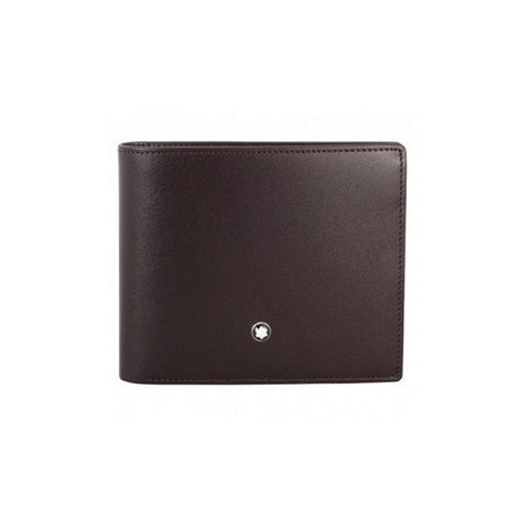 Montblanc Meisterstuck 6 CC Leather Wallet - Brown 114549