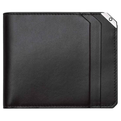 MonMontBlanc Urban Spirit Black Leather 6CC Wallet 114665