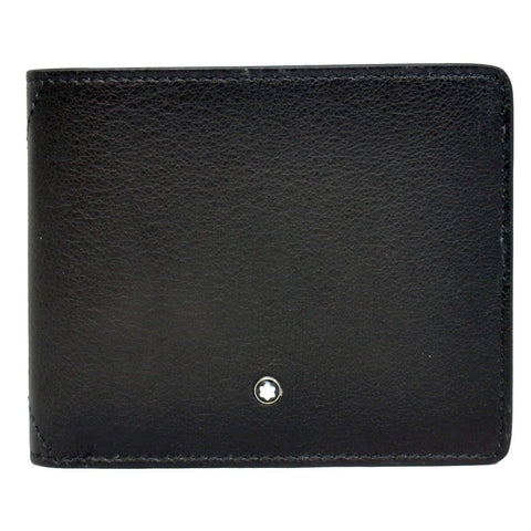 MontBlanc Meisterstuck Selection Sfumato 6CC Wallet- Grey 118345
