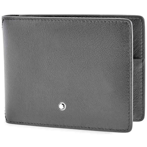 MontBlanc Meisterstuck Selection Sfumato 4cc Wallet- Grey 118351