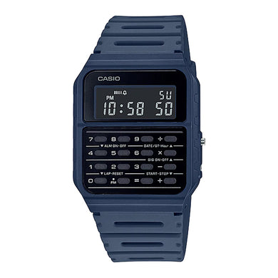 Casio Data Bank Calculator Blue Resin Band Watch CA53WF-2B CA-53WF-2B