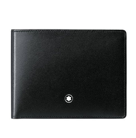 Montblanc Meisterstuck Black Leather 6CC Wallet 14548