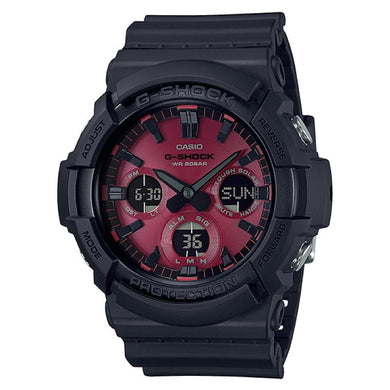 Casio G-Shock GAS-100 Lineup Special Color Models Black Resin Band Watch GAS100AR-1A GAS-100AR-1A [NA-AR]
