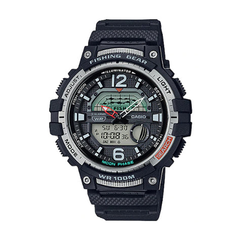 Casio Outgear Series Black Resin Band Watch WSC1250H-1A WSC-1250H-1A
