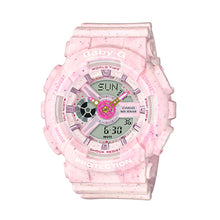Load image into Gallery viewer, Casio Baby-G BA110 Series Pop Design Models in Pastel Colours Pink Resin Band Watch BA110PI-4A BA-110PI-4A