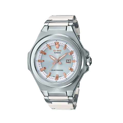 Casio Baby-G G-MS Lineup Stainless Steel / Resin Composite Band Watch MSGS500CD-7A MSG-S500CD-7A