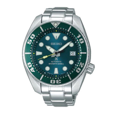[JDM] Seiko Prospex (Japan Made) Diver Scuba Silver Stainless Steel Band Watch SZSC004 SZSC004J | Watchspree