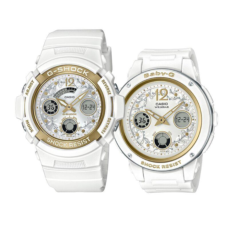 Casio G-Shock & Baby-G Couple G Presents Lover Collection's Limited Models LOV19A-7A LOV-19A-7A