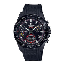 Load image into Gallery viewer, Casio Edifice Standard Chronograph Black Resin Band Watch EFV540PB-1A EFV-540PB-1A